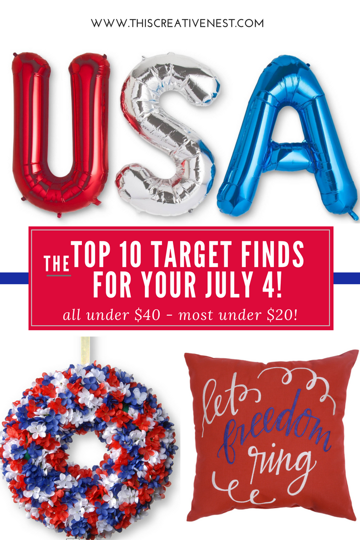 The Top 10 Target Finds for Your July 4 All Under $40 and most under $20!