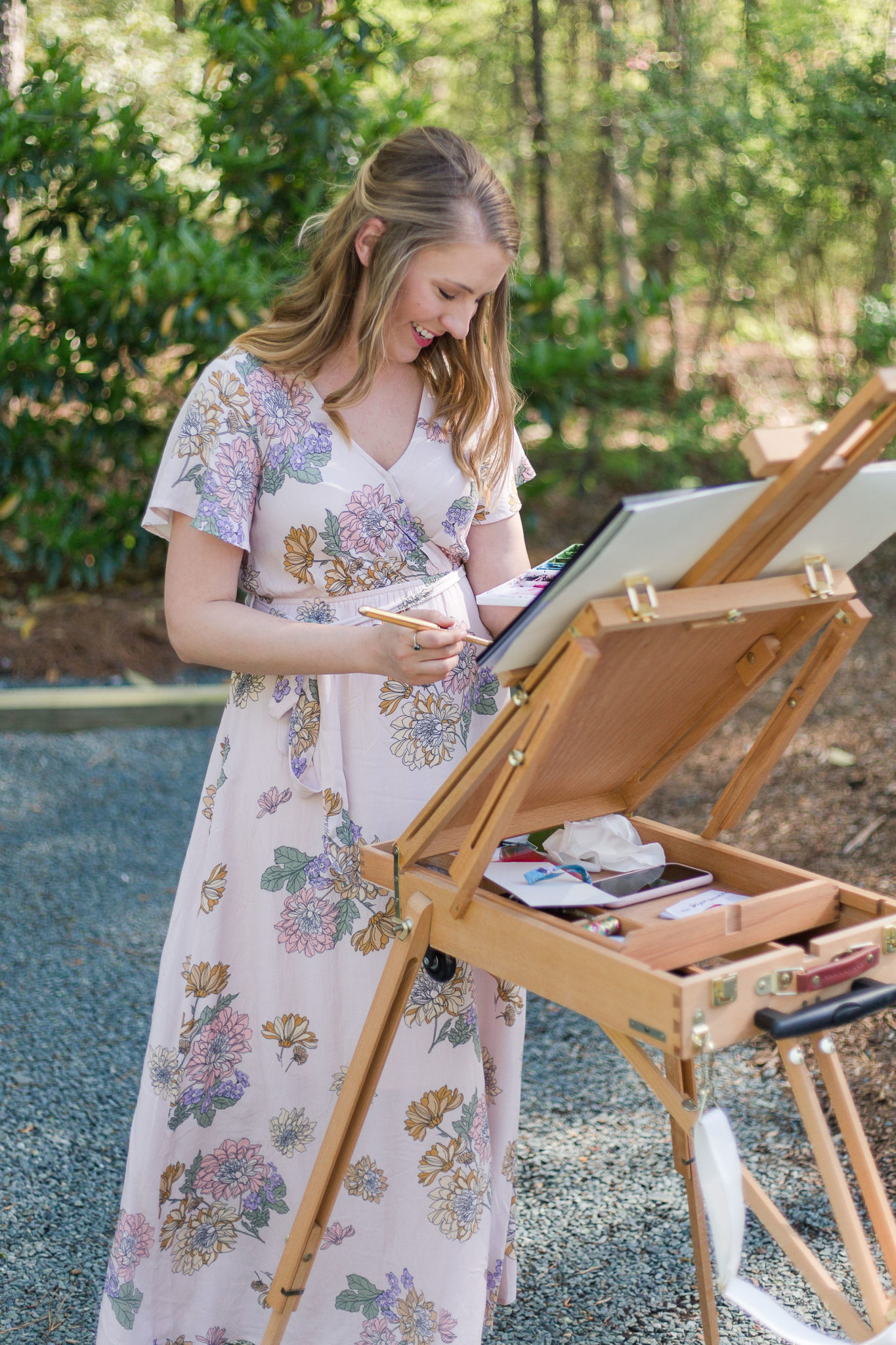 Live Wedding Painting - NC Live Wedding Painter